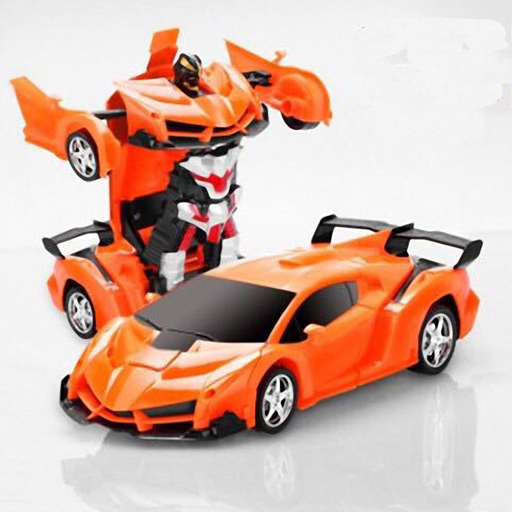 Hapybas RC Car Transformation Sports Vehicle Model Robots